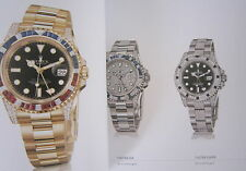 Luxury Catalog of 2013 Edition ROLEX Watch Company, Made in Switzerland, New