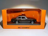 Peugeot 504 coupé phase 2 de 1976  au 1/43 de Minichamps / Maxichamps