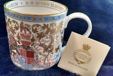 Queen Elizabeth Longest Reigning Monarch Mug -- Harrods