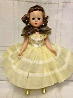 1957- 58 Madame Alexander CISSETTE Doll, Re-Dressed, MMe, triple stitched wig