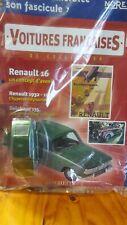 Véhicule miniature Norev RENAULT 16 R16 + fascicule 1/43 scale