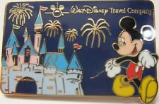 Walt Disney Travel Company Featuring Mickey Mouse Pin