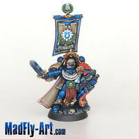 Ultramarines Captain MASTERS6 painted MadFly-Art