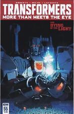 Transformers: More Than Meets the Eye #55:  IDW (REG CVR)