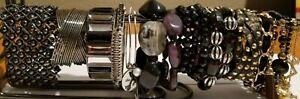 **Bracelet Collection lot variety Black theme**