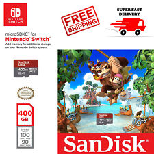 SanDisk 400 GB Nintendo Switch micro SD XC Card Class10 Flash Storage Memory USA