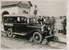 JENZAT MAYET D'ECOLE c. 1930 - HOTCHKISS Railroute - PRM 45