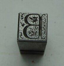 Vintage Printing Letterpress Printers Block Letter B Monotype 516 X 516