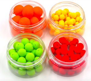 Floating Ball Beads Smell Pop Ups Carp Fishing Bait Lure Corn Flavor Artificial