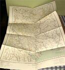 WWI 1915 German Army Military Map E. Europe,Odessa,Ukraine,Russia,Prussia,RARE