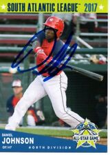 Daniel Johnson 2017 Hagerstown Suns South Atlantic All Star Game Signed Card