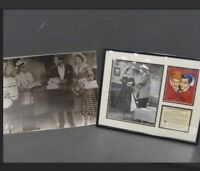 I Love Lucy 11x14 Vintage Lithograph Art & 11x14 Blsck & White Photo  COA