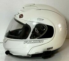 FULMER MODUS M1 MODULAR FULL FACE HELMET W/ Microphone White Harley Davidson