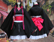 Machine-Doll wa Kizutsukanai Yaya Cosplay Furisode Kimono Costume Cos Suit