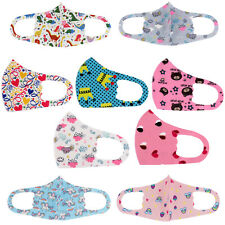Kids Toddler Reusable Washable Cloth Face Protection Cover Stretch Handmade Mask