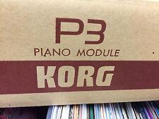 KORG P3 Piano Modul neu original verpackt, unbenutzt (328)