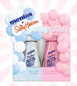 Sally Hansen Insta-Dri Mentos Nail Polish Fresh Maker Confection Perfection Set