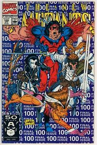 New Mutants #100, VF+, 1st Team Appearance of X-Force, Final Issue
