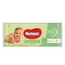 640 Wipes 10 x Packs of 64 Huggies Soft Skin Baby Wipes
