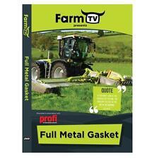 FarmTV Full Metal Gasket DVD new/Tractors/Ireland/UK/Free Post/Country/Farming