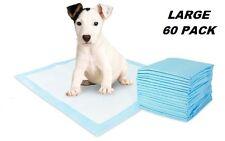 60 PCS 60 x 60cm PUPPY PET DOG INDOOR CAT TOILET TRAINING PADS ABSORBENT : NEW