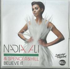 Nadia Ali & Spencer&Hill - Believe it (2012) 2 Track Promo CD