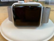 Apple Watch Edition, Series 2, Ceramic, 38mm with Milanese loop