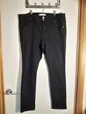 Crossroads Slim & Shape Straight Women's skinny Jeans - Black - Size 16 slimming