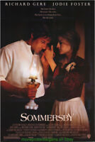 SOMMERSBY MOVIE POSTER Original V. Fine Rare DS 27x40 JODIE FOSTER RICHARD GERE