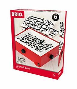 BRIO Labyrinth mit Übungsplatten, rot - drei verschiedenen Schwierigkeitsstufen