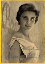 "Auth.Autograph""Rossana Podesta"" Photo W/COA"
