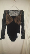 MARKS AND SPENCER BLACK THERMAL HEATGEN CAMMI / TOP NEW /TAGS SZ 10 20.00 ON TAG