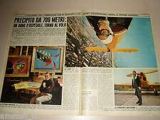 ROBERTO CRIPPA pittore clipping ritaglio articolo foto photo 1970