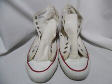VTG CONVERSE ALL-STAR HIGH TOP SNEAKERS Chuck Taylor White Made in USA Sz 7