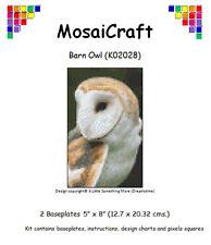 MosaiCraft Pixel Craft Mosaic Art Kit 'Barn Owl' Pixelhobby