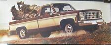 1980 Chevrolet Silverado Pickup Showroom Poster mx327-XGE1B6