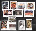 2013 #4748 Modern Art in America 12 Single Forever Stamps MNH