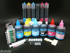 Compatible Ink System for Epson Artisan 800 810 835 837 CISS & Extra Ink Set