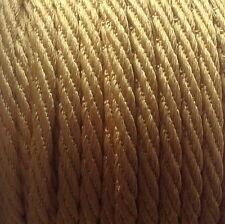 5MM BERISFORDS BARLEY TWIST ROPE /CORD x 4M -CHOOSE YOUR COLOUR