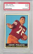 1961 Topps Football John Paluck (Rookie Card) (#130) PSA9 PSA