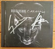 Disclosure - Caracal Signed CD Autographed