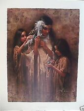 """Lee Bogle Print """"BRIDAL PARTY"""" Signed/Numbered Limited Edition # 25 of 1500"""