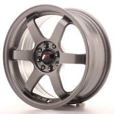 Japan Racing JR3 Alloy Wheel 16x7 - 4x100 / 4x114.3 - ET40 - Gun Metal