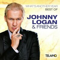 JOHNNY LOGAN & FRIENDS - WHAT'S ANOTHER YEAR,BEST OF CD NEU