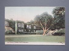 R&L Postcard: Haddon Hall Derbyshire PU to Richardson, New Street Huddersfield