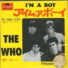 THE WHO-I'M A BOY / IN THE CITY-JAPAN 7INCH MINI LP SHM-CD Ltd/Ed D73