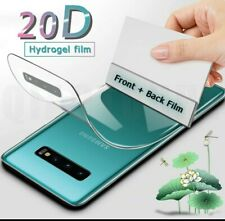 20D Front + Back Full Cover Hydrogel Film for Samsung Galaxy S9 S8 S10 Plus...