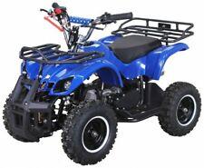 "Miniquad bambini benzina 50cc e-start ruote6"" mini motocross quad atv Garanzia"