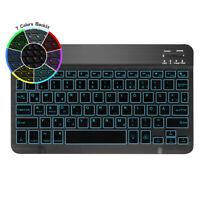 """DEUTSCHE QWERTZ Kabellose Bluetooth-Tastatur für iPad 10.2"""" 9.7 7th/6th Gen 2019"""
