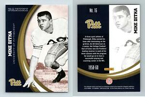 Mike Ditka #16 Pittsburgh Panthers Collegiate 2016 Panini Trading Card